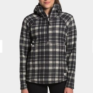 The North Face Printed Crescent Hooded Pullover XS
